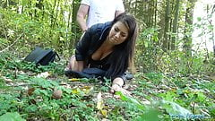 Public Agent Tight busty minx Czech pussy fucked doggystyle