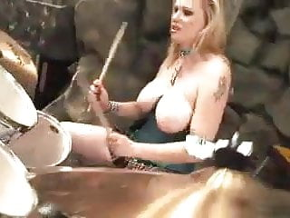 funny rocco music clip with big boobs belly dancer