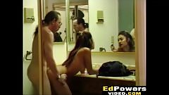 Thai babe Malina fucked in bathroom while she puts make up