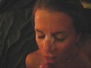 slut loves huge cock and facial - see pics also