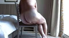 OLD GUY ON CHAIR