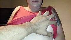 Busty suck big cock