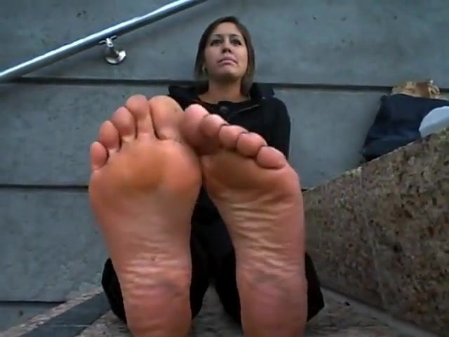 Ebony Self Feet Worship