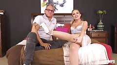 Big Tit Country Girl Masturbates Before Having Hardcore Sex