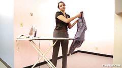 Housewife handjob