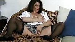 Bbw big titty monica jerks my cock