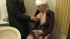 Good Masturbate In Toilet With A Depraved Lady