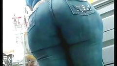 WICKED LOOKING VPL IN TIGHT JEANS