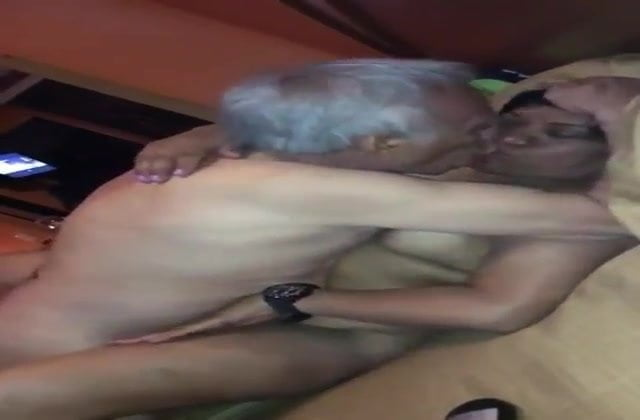 Old Asian Man With Asian MILF