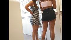 Candid voyeur thick latina huge tits nice booty