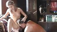 HYE Lovely Daughter Gives Dad Her Pussy !
