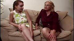 gilf teaches teen all about lesbian sex