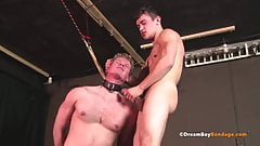 Submissive Jock Sucks Hung Master Teen Cock - Gay Bondage