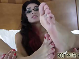 Preview 4 of Jerk your cock to my perfect little feet