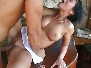 Two wet cunts and hungry assholes for a big dreamcock