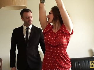 Challenging subslut Ava Austen plowed by sturdy Pascal cock