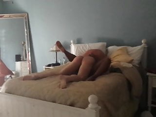 Wife Fucked in our Bed