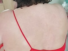 Scottish slut Sara has some tit abuse .  2 of 3