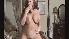 Busty milf whore fucks on webcam