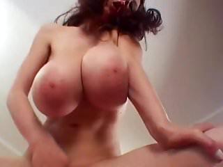 Big huge bouncy yummy boobs massive titty thin girl