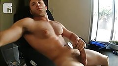 Gay muscle jerk off