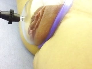 pumping her pussy for daddy