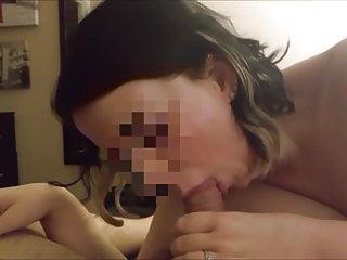 Filming Her Sucking My Cock