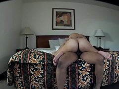 Tight pussy squeezing and bouncing on my dick(Playtime)