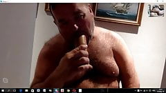 Chubby Guy Masturbation on cam for me.