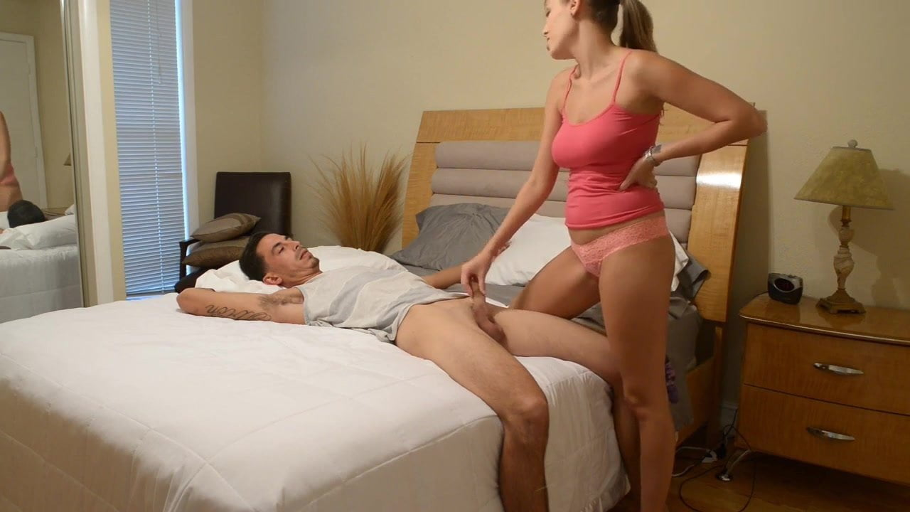 Step Brother Slips Dick Sister