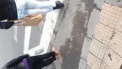 spy sexy teens ass street romanian
