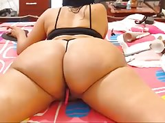Mature Busty Latina MILF Showing Off Body (Part 2)