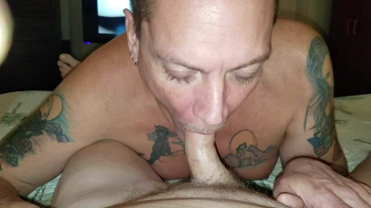 Suck cum from cock