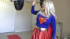 Showing Off My Newfound Super Strength - Tara Tainton's Thumb