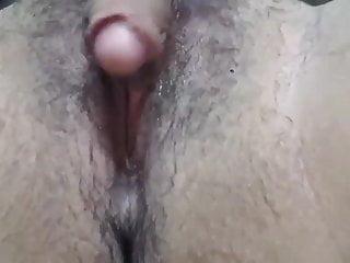 big clit close up