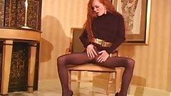 JOI - Redhead in Pantyhose