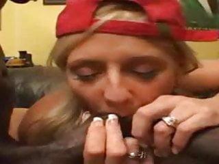 Mature slut fucks two bbc in this classic scene