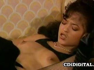 Nina DePonca - Black On Black Vintage Sex Scene