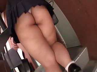 Japanese Bbw Schoolgirl Mini Skirt