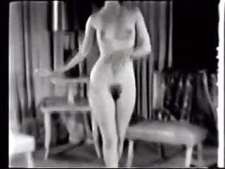 We Got Bush Black White Tits 1950's