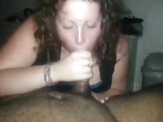 White Girl Sucks Dick take load