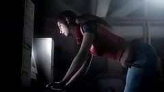 Resident Evil - Claire Redfield has a great Ass