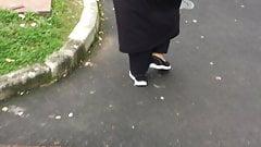 Hijab candid ass