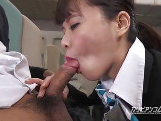 Haruka Miura Fight Attendance Special Service - CARIBBEANCOM