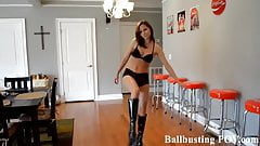 Your ballbusting humiliation