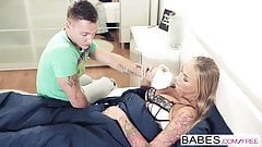 Babes - Step Mom Lessons - Kayla Green and Matt Ice and Oliv