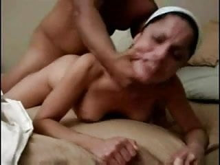 Horny Cheating Latina Wife Fucked by her Lover on Cam