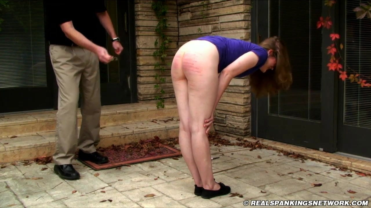 Punish bare bottom