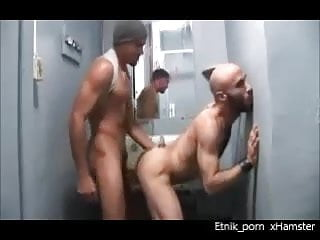 Antonio Biaggi Nasty Fuck And Fist In Restroom