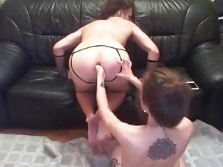 Young Couple Extream Girl Fist Boy
